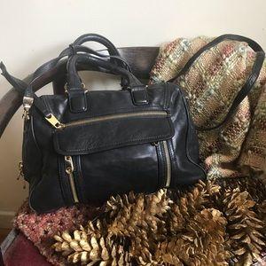 Cynthia Rowley  leather tote bag